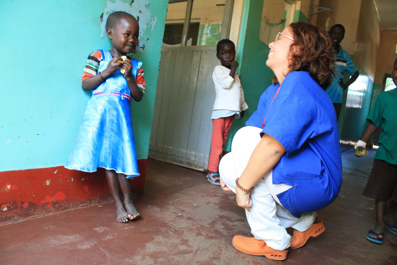 Una pediatra in Uganda. Dialogare con lo sguardo: le giornate di Francesca