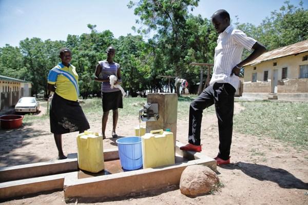 Nuovo accesso all'acqua pulita